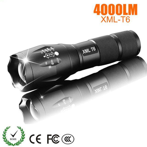 LED Rechargeable 4000 Lumens Flashlight