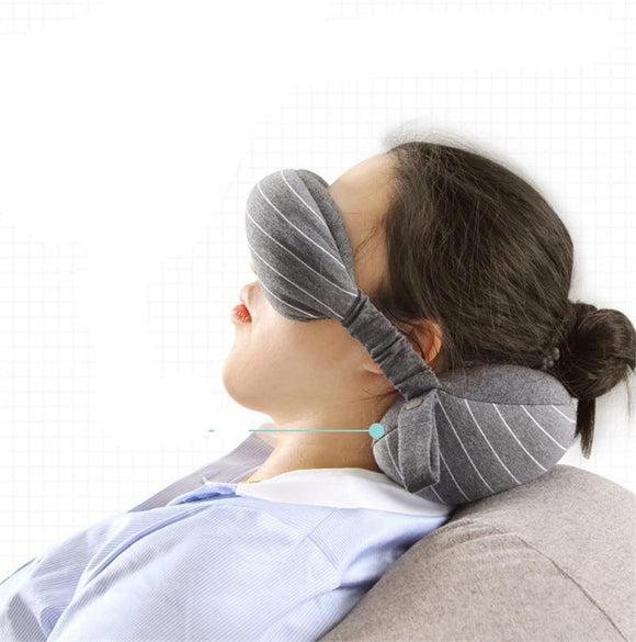 Travel Neck Pillow & Eye Mask