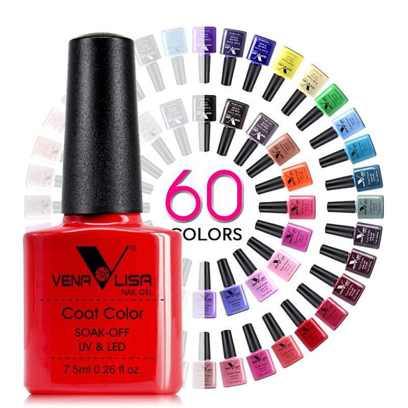 Nail Art Design Manicure Venalisa 60Color