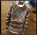 Casual Knitted Pullover For Men 3 Colors