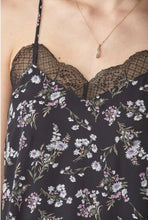 Load image into Gallery viewer, Freesia Lace Camisole - Black