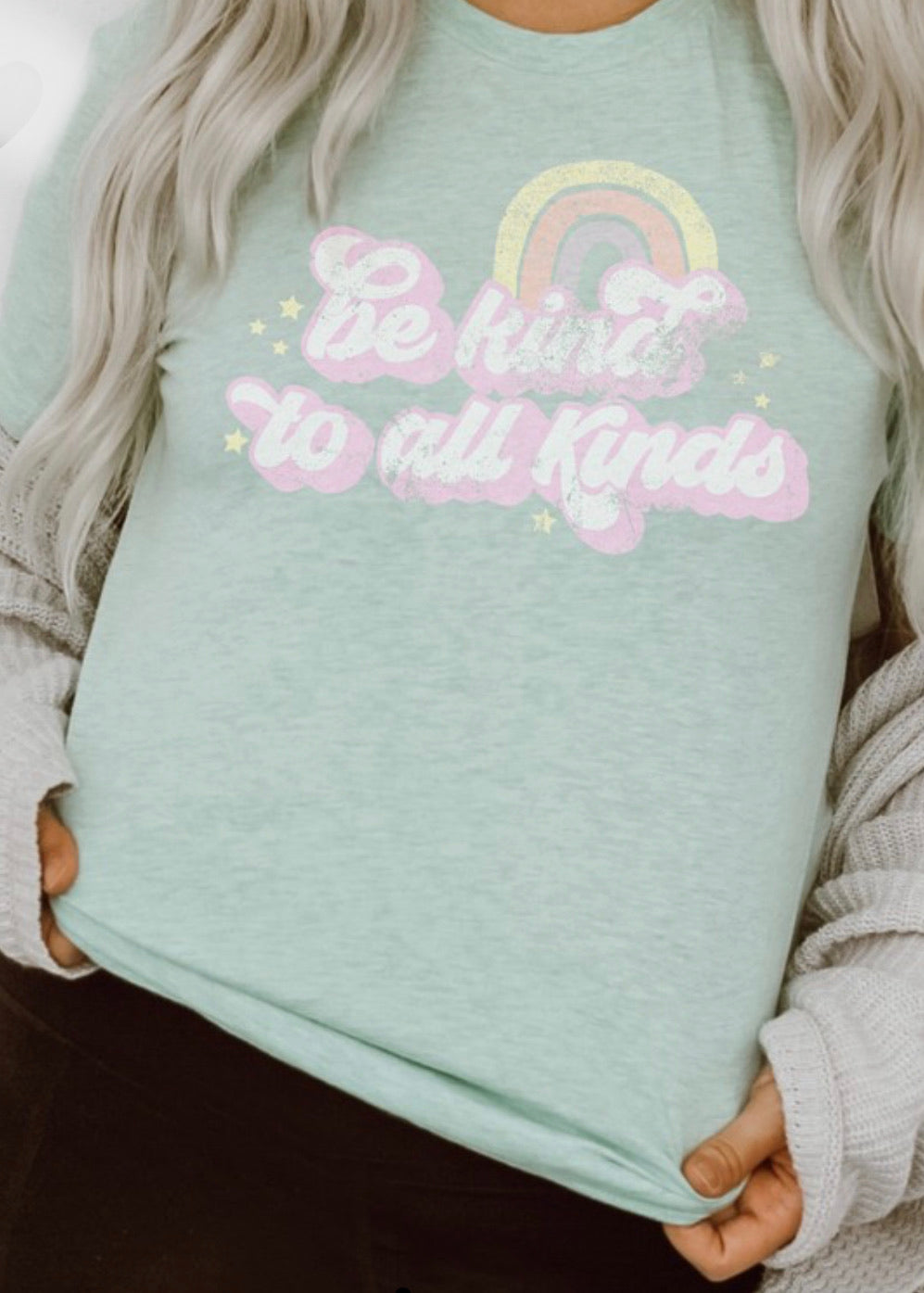 Be Kind to All Kinds Graphic T-shirt