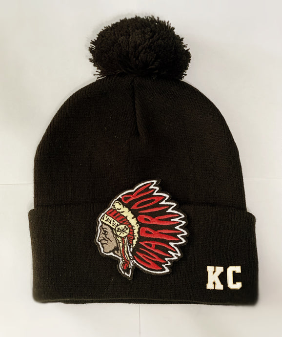 KC Beanie with Pom