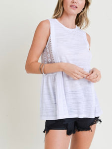 UR - Chelsea Side Lace Top