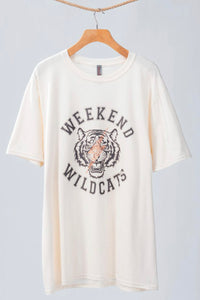Weekend Wildcats Graphic T-shirt