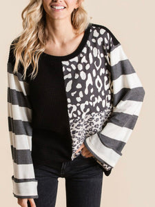 Wilder Block Print Top