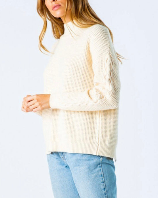Sandy Mock Neck Pullover