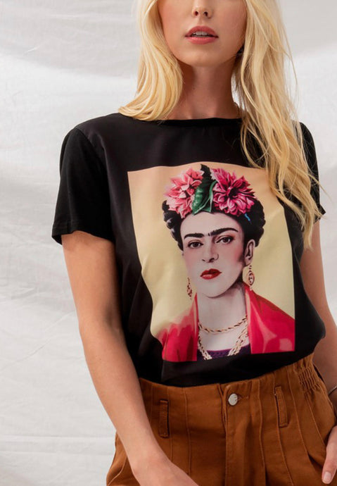 Frida Kahlo Graphic Top