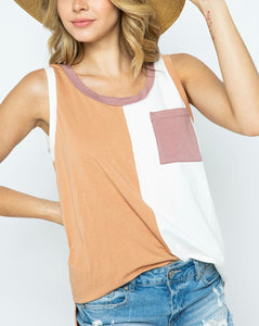 Chloe Color Block Top