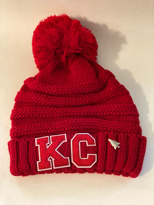 KC Cable Knit Beanie