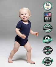 Load image into Gallery viewer, TeeStars - I Only Cry When Democrats Hold Me Funny Political Baby Bodysuit