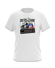 Load image into Gallery viewer, Kavanaugh Justice League T-Shirt (Red, Blue, White)