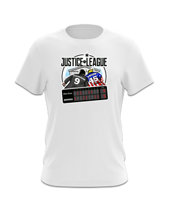 Kavanaugh Justice League T-Shirt (Red, Blue, White)