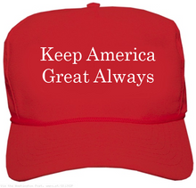 Load image into Gallery viewer, Custom Printed Red MAGA Hat