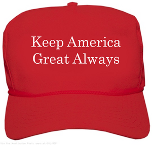 Custom Printed Red MAGA Hat