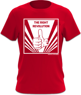 The Revolution Right- Red T-Shirt