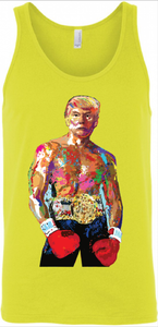 Rocky-Trump Tank Top - Yellow