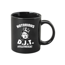 Load image into Gallery viewer, Notorious DJT 15 Oz. Coffee Mug