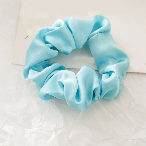 Frozen Teal Scrunchie