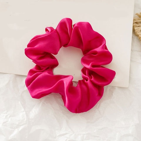 Watermelon Pink Scrunchie