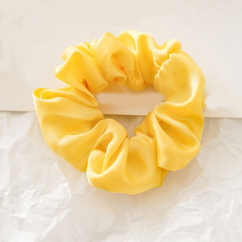 Sunflower Yellow Scrunchie