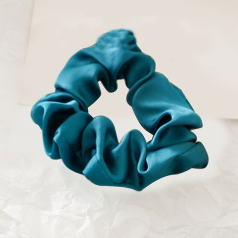 Pacific Blue Scrunchie