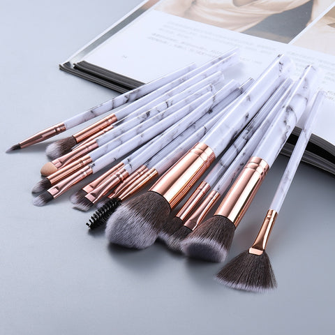 15 Marble Makeup Brushes