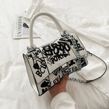 Graffiti Chain Bag