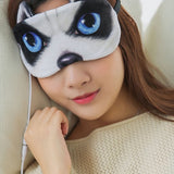 USB Cartoon Animal Heat Eyeshade Sleep