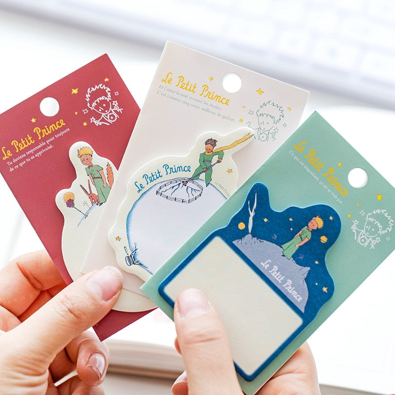 Little Prince Memo Pad in Three Colors