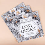 Lost Ocean Inky Coloring Book for Sleepy Heads