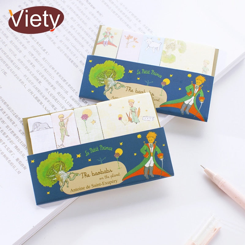 Little Prince Memo Pad Sticky Notes for Remembering Things