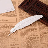 Metal Feather Dream Mark Bookmark
