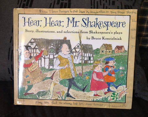 Hear, Hear, Mr. Shakespeare, Vintage Book