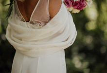 Load image into Gallery viewer, Wedding Shawl Fabric Samples