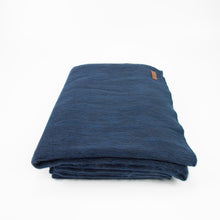 Load image into Gallery viewer, Alpaca blanket - Midnight Blue