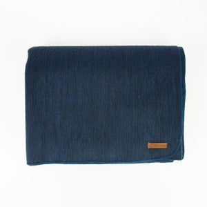 Alpaca blanket - Midnight Blue