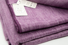 Load image into Gallery viewer, Alpaca blanket - Purple Lilac