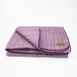 Alpaca blanket - Purple Lilac