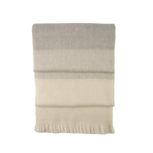 Load image into Gallery viewer, Alpaca scarf - Beige Composite