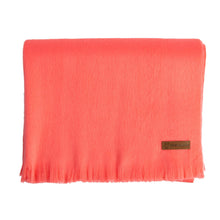 Load image into Gallery viewer, Alpaca scarf - Coral