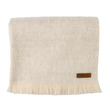 Load image into Gallery viewer, Alpaca scarf - Cream Melange