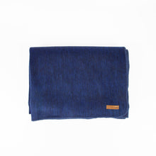 Load image into Gallery viewer, Alpaca blanket - Navy Blue