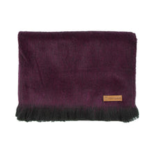 Load image into Gallery viewer, Alpaca scarf - Aubergine