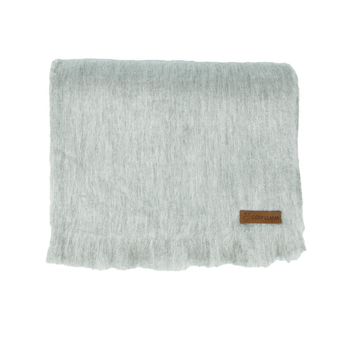 Alpaca scarf - Cloud Grey