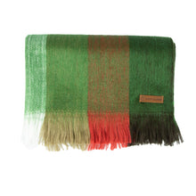 Load image into Gallery viewer, Alpaca scarf - Green Stripe