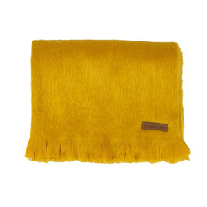 Alpaca scarf - Honey Mustard