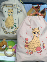 Load image into Gallery viewer, Cute Llama Nappy Travel Bag Organiser | Baby Toy Bag | Baby Clothing Bag