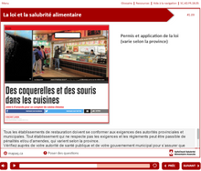 Load image into Gallery viewer, manipulateur d'aliments CFS- SafeCheck® Version Française -  en ligne