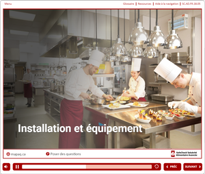 Food Handler For Employees - French Language Version - Online - manipulateur d'aliments CFS- SafeCheck® Version Française -  en ligne